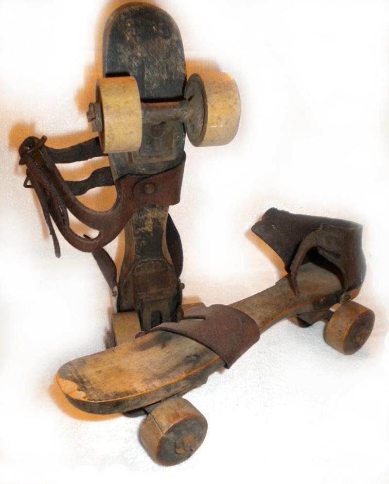 Roller Skates from 1800's